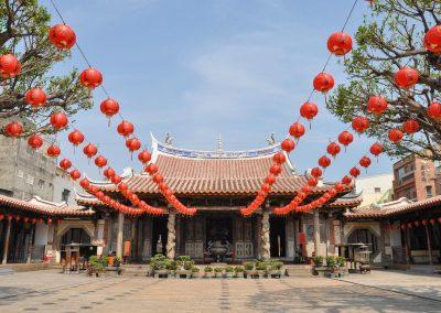 Chrám Longshan v Lukang na západě Taiwanu