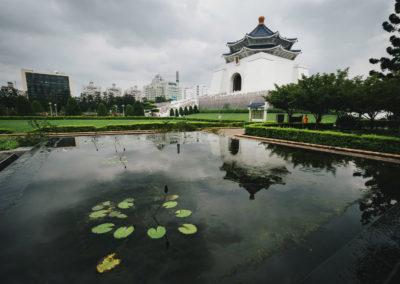 Malebné parky v okolí Chiang Kai-shek Memorial Hall