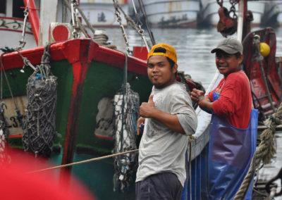 Rybáři na Taiwanu