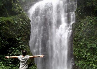 Nádherný vodopád Youmeikeng na východním pobřeží Taiwanu