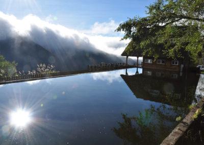 Wuling Farm, startovní místo na trek na druhou nejvyšší horu Taiwanu