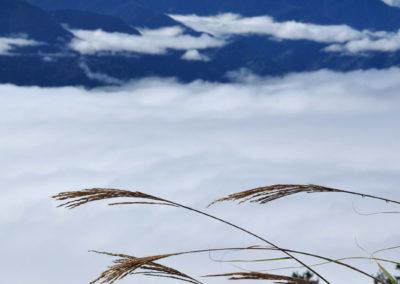 Moře mraků na Taiwanu