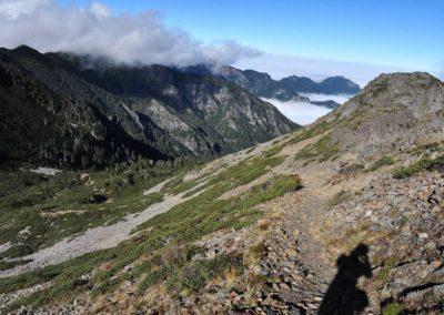 Výstup na horu Xueshan na Taiwanu
