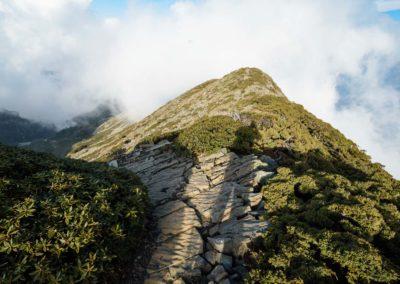 Výstup na horu Xueshan na ostrově Tchaj-wan
