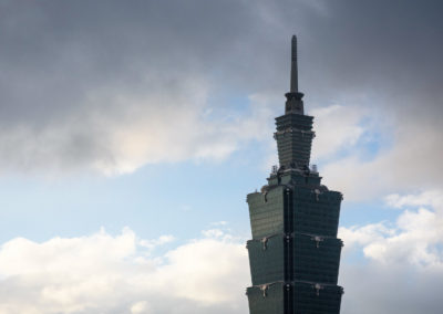 Ranní výhledy na Taipei 101