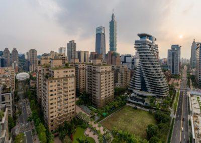 Nejmodernější oblast Taipei, Xinyi