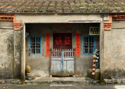 Historický dům na ostrově Taiwan