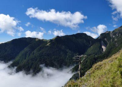 Panorama národního parku Sheipa na Tchaj-wanu