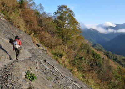 Trekking na Taiwanu v pohoří Lalashan