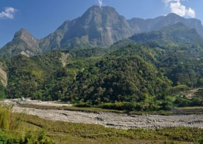 Divoké pohoří centrálního Taiwanu