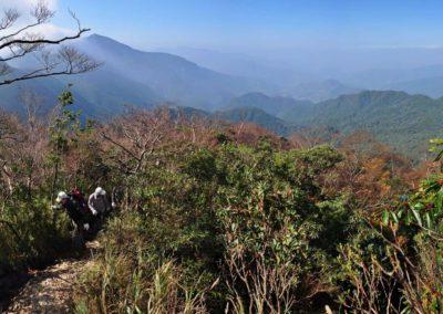 Výstup na horu Beichatianshan na severu Taiwanu