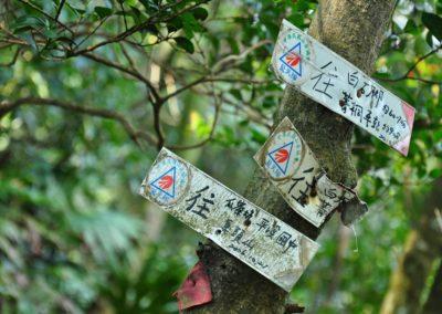 Turistické značení na Taiwanu