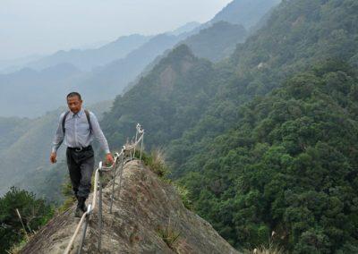 Adrenalinová turistika a hoře Wuliaojian
