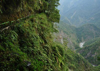Historická stezka Walami v národním parku Yushan