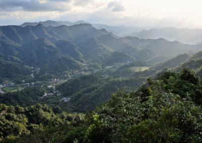Údolí Pingxi je rájem pěších turistů na Taiwanu