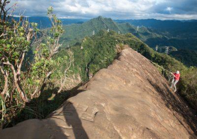 Výstup na horu Huangdidian v New Taipei City