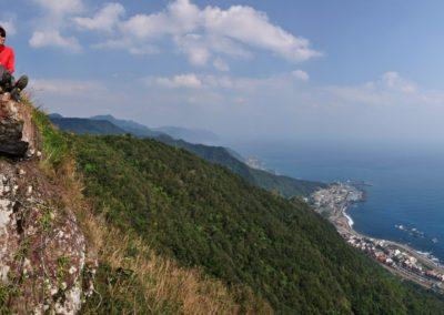 Pěší turistika na severním Taiwanu