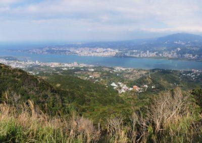 Výstup na horu Guanyinshan s výhledy na město Taipei
