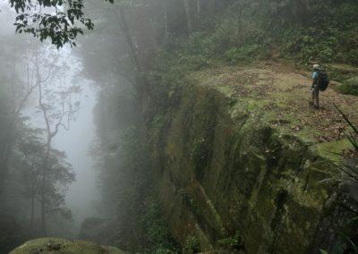 Horská turistika v centrálním pohoří Taiwanu