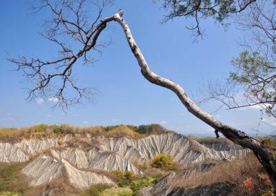 Badlands v okrese Kaohsiung