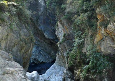 Řeka Liwu protéká soutěskou Taroko