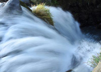 """Vodopád """"Ghost Waterfall"""" na sever od Taipei"""