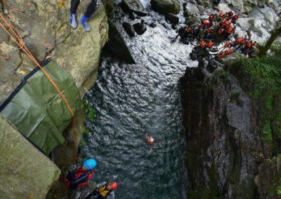 Canyoning na ostrově Tchaj-wan