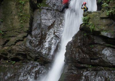 Skákání z vodopádu a canyoning na ostrově Taiwan