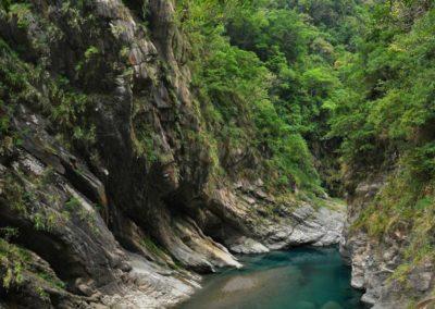 Soutěska Little Taroko v okrese Hualien