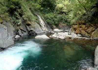 River tracing na ostrově Taiwan