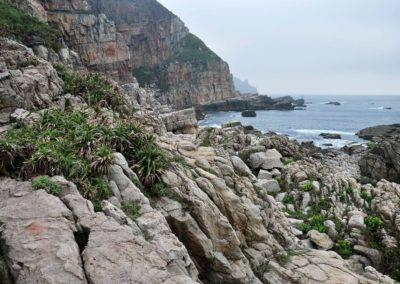 Divoké pobřeží severního Tchaj-wanu