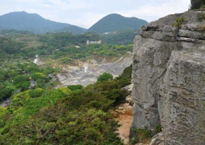 Sportovní lezení v národním parku Yangmingshan