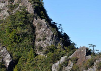 Skalní lezení u města Taichung