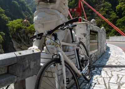 Zapůjčené kolo Giant na Taiwanu