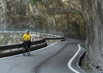 Silniční cyklistika v soutěsce Taroko na Taiwanu