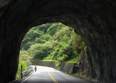 Výlet na kole v soutěsce Taroko