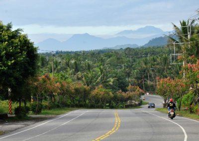 Skvělá silnice pro cyklisty v Hualienu