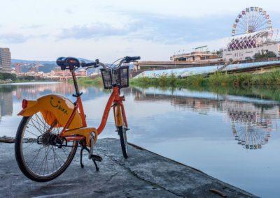 Městská kola YouBike v Tchaj-pej