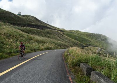Silniční cyklistika v horách Taiwanu