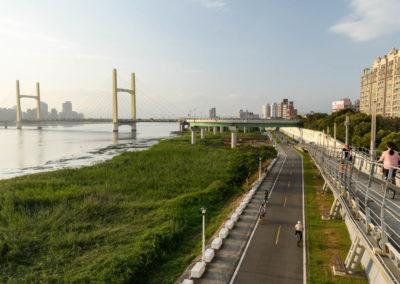 Kvalitní cyklostezky v Tchaj-pej