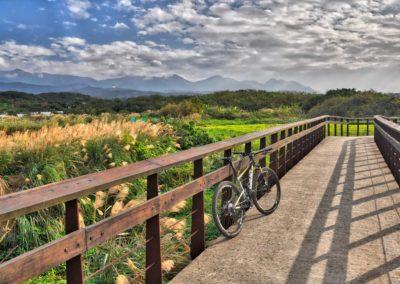 Nádherná cyklostezka podél severního pobřeží Taiwanu
