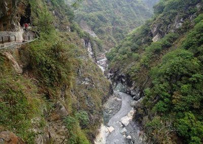 MTB v národním parku Taroko na východě ostrova Taiwan