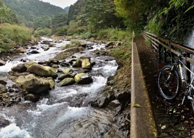 Stezka Tonghou pro horská kola na Taiwanu