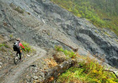 Horská cyklistika na stezce Nenggao na Taiwanu