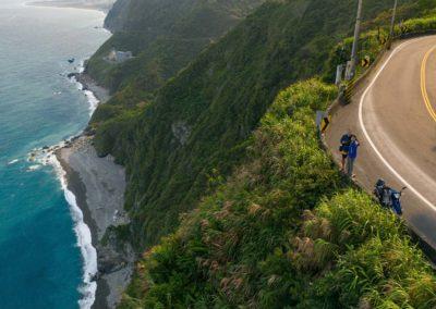 Na skútru podél východního pobřeží Taiwanu