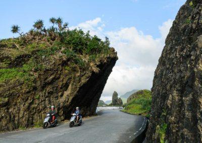 Výlet na skútru okolo ostrova Orchid Island