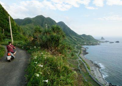 Nejhezčí pohled na ostrov Orchid Island