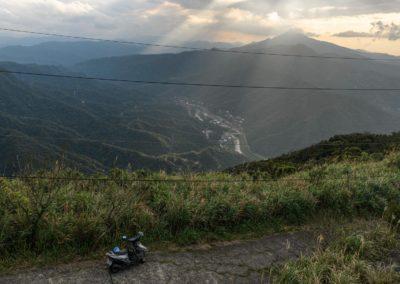 Výlet na skútrech na severu ostrova Taiwan