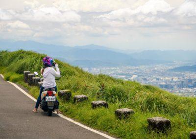 Výlet na skútru v okolí Taipei