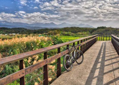 Cyklostezka na severu Taiwanu